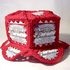 Crochet Beer Can Cowboy Hat Pattern : Creative Uses for Empty Soda (or beer) Cans - The ...